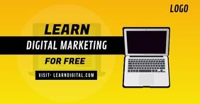 Learn Digital Marketing Facebook Ad Template