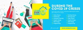 Learn From Home Facebook Cover Photo template