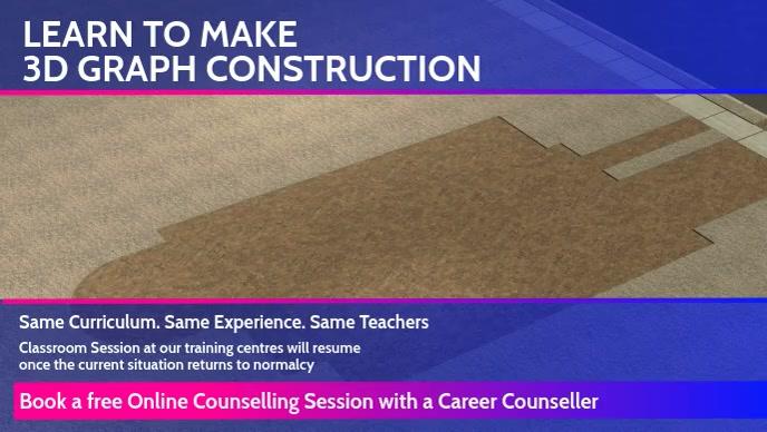 Learn Online 3D Graph Construction Template Facebook 封面视频 (16:9)