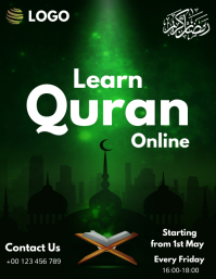 Learn Quran Online Educational Template