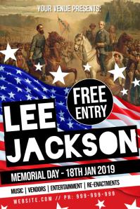 Lee Jackson Memorial Poster