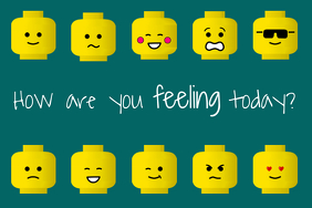 Lego Attitude Poster