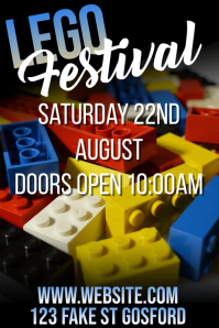 lego party Poster template