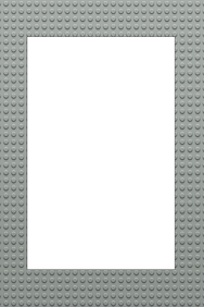 Lego Party Prop Frame