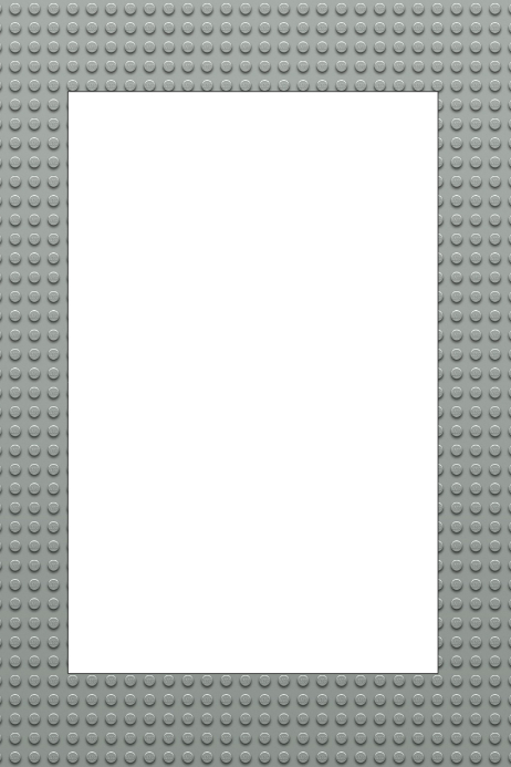 lego party prop frame template postermywall