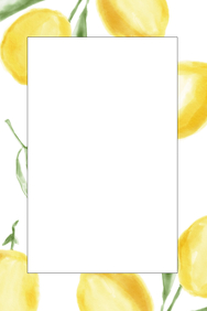 Lemon Party Prop Frame