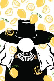 Lemonade Party Prop Frame