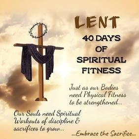 Lent Message Video