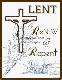 Lenten Message Flyer Template