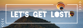 Let's Get Lost Tumblr Banner template