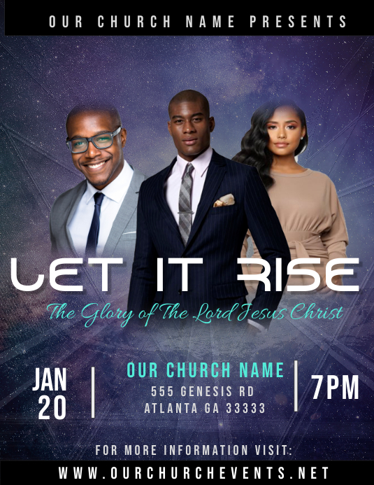 Let It Rise Flyer