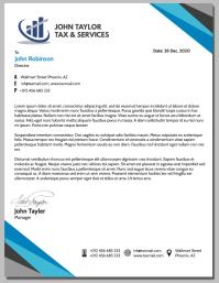 Letter Head Volantino (US Letter) template