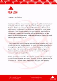 Letter head tempalte
