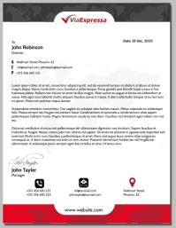 Letter Head Flyer (US Letter) template