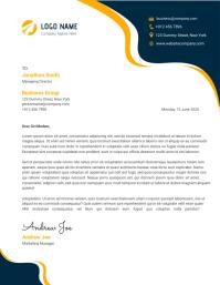 Letterhead Design Template Flyer (US Letter)