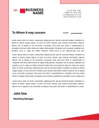 letterhead templates Flyer (US Letter)