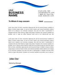 letterhead templates Flyer (US-Letter)