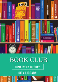 LIBRARY BOOK CLUB TEMPLATE