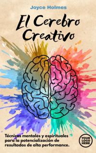LIbro La Mente o Cerebro Creativo Copertina di Kindle template