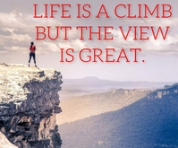 LIFE AND GREAT QUOTE TEMPLATE Medium Reghoek