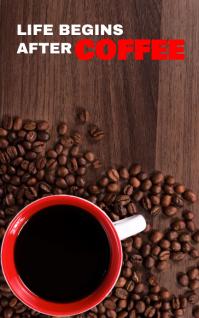 LIFE COFFEE BOOK TEMPLATE Portada de Kindle