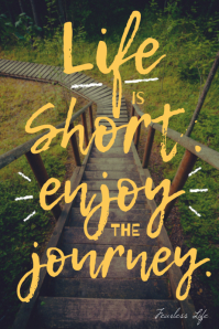 Life is Short Funny Inspiration decorative