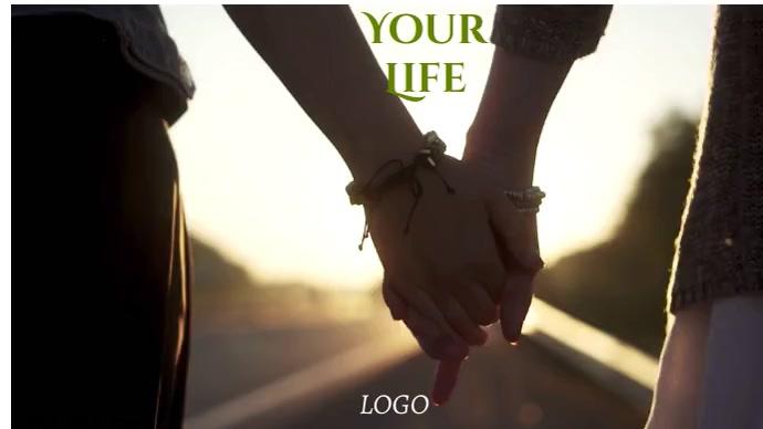 LIFE LOGO Foto de Portada de Canal de YouTube template
