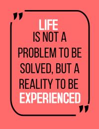 Life quote template Iflaya (Incwadi ye-US)