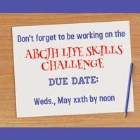 Life Skills Challenge