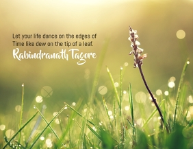 Life thought poster