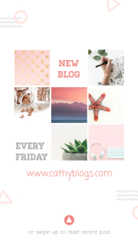 Lifestyle and DIY Blog Article Instagram Story