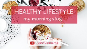 Lifestyle Vlog YouTube Channel Art Template