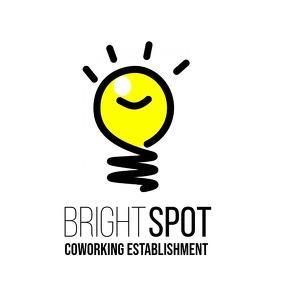 Light Bulb Coworking Space logo template 2 Логотип