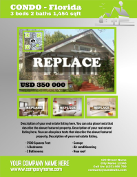 Light colored real estate flyer - Letter size (new)