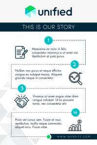 Light Grey Blog Pinterest Infographic template