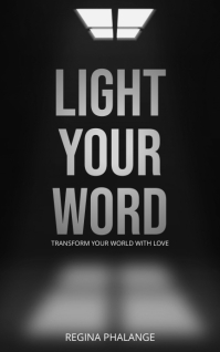 Light Window book cover design template Sampul Buku