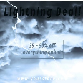 Lightning Deal Retail Video