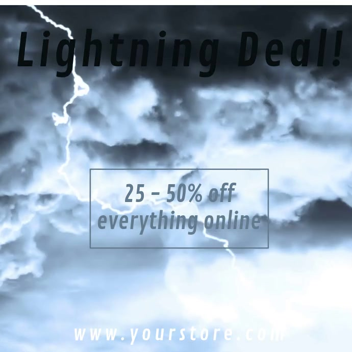 Lightning Deal Retail Video