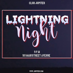 LIGHTNING NIGHT TEMPLATE AD
