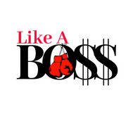 Like A Boss Logo template