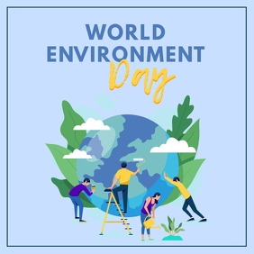 Lilac World Environment Day Instagram Image