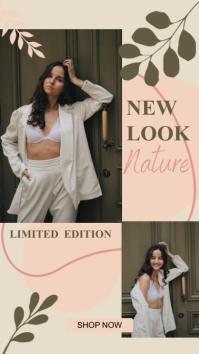 Limited Edition Fashion banner Historia de Instagram template