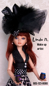 Linda business card