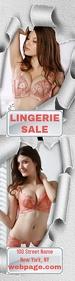 Lingerie Sale Skyaper Template