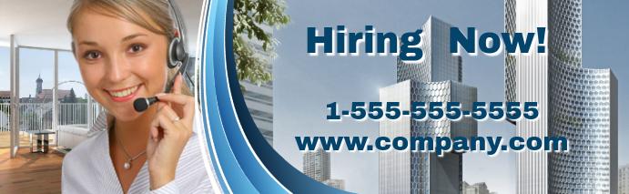 Job Fair Flyer LinkedIn Career Cover Photo template