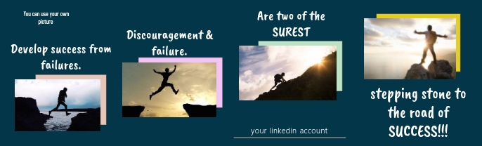 Linkedin Cover Template LinkedIn-achtergrondafbeelding