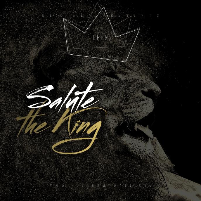 Lion King Mixtape CD Cover Art Template