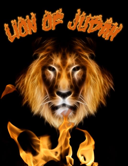 Lion of Judah Flyer (Letter pang-US) template