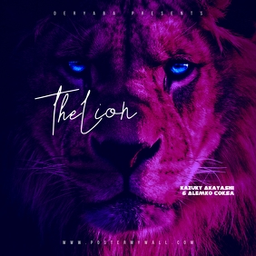 Lion the mixtape cd cover art template Albumcover