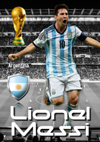Lionel Messi Poster